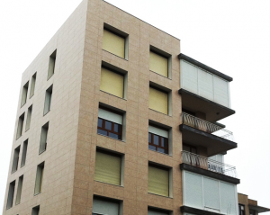 fachada ventilada edificio